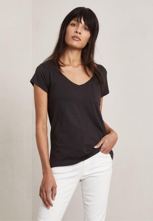 BONO - T-shirt basic - dark evening black
