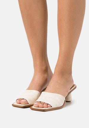 OZIO - Heeled mules - marguerite blanc