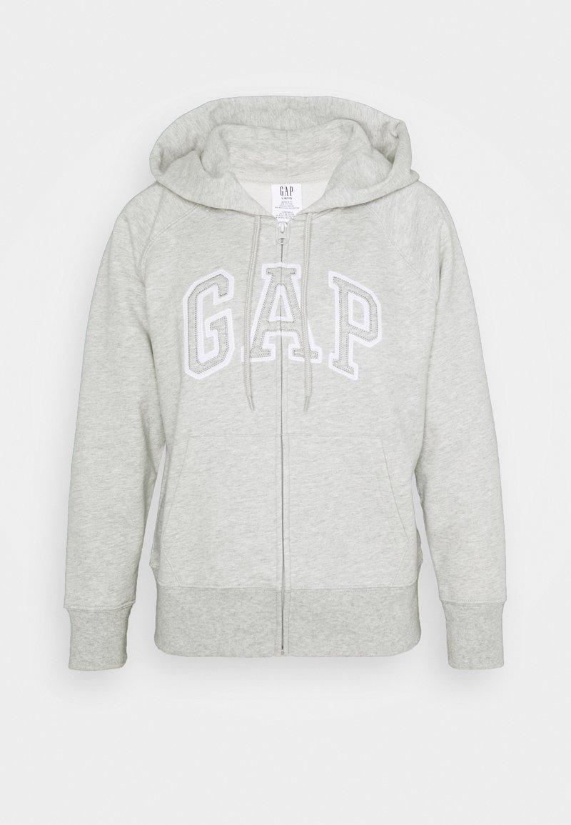 GAP Petite - Bluza rozpinana - light heather grey