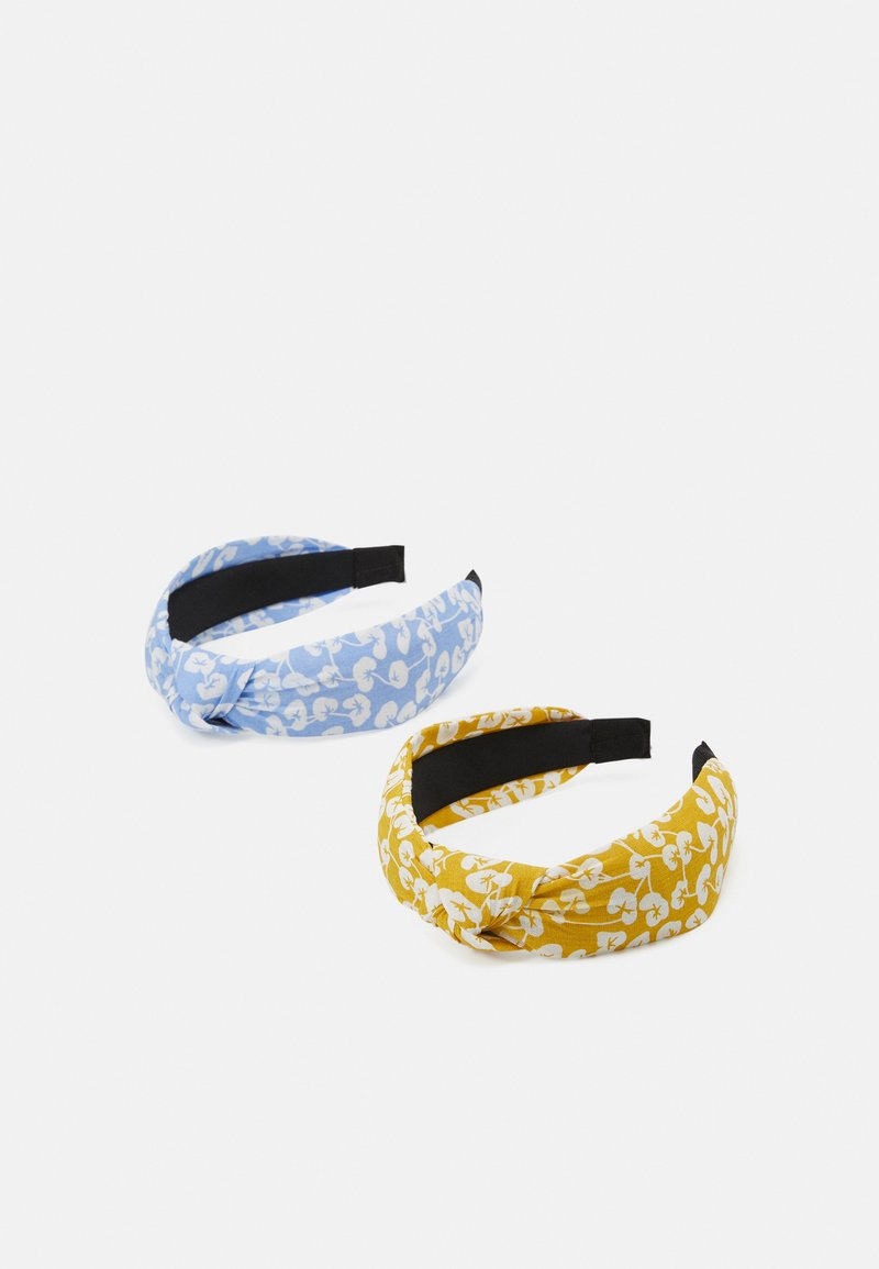 Pieces - PCVACCA HAIRBAND 2 PACK - Hair styling accessory - kentucky blue/yellow
