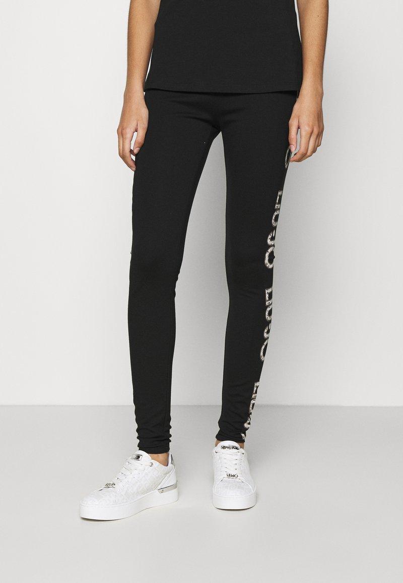 Liu Jo Jeans - PANTALONE LUNGO - Leggings - Trousers - nero
