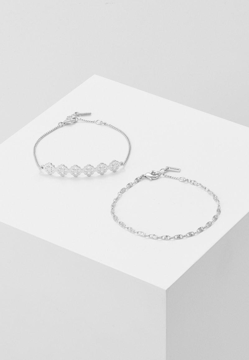 Pilgrim - BRACELET EXCLUSIVE JOY 2 PACK - Bracelet - silver-coloured