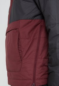 The North Face - INSULATED FANORAK - Outdoorjas - black/deep garnet red - 7