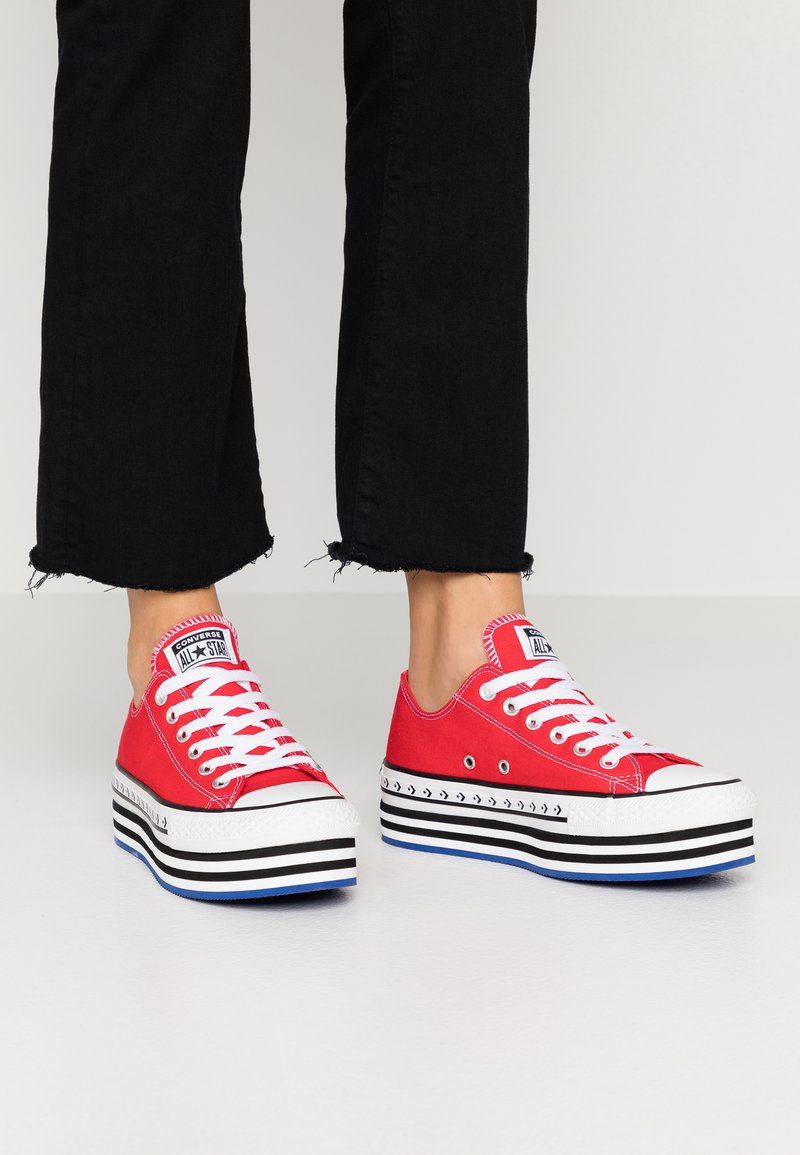 Converse - CHUCK TAYLOR ALL STAR LIFT ARCHIVAL  - Joggesko - university red/white/black