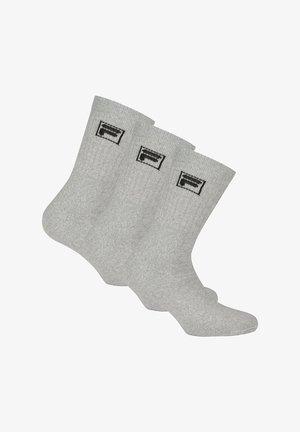 3 PACK - Socks - grau