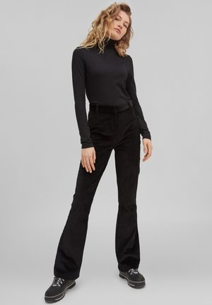 TEES TURTLE NECK LS - Long sleeved top - blackout  a