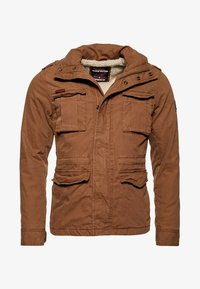 Superdry - CLASSIC ROOKIE  - Light jacket - rusty gold - 5