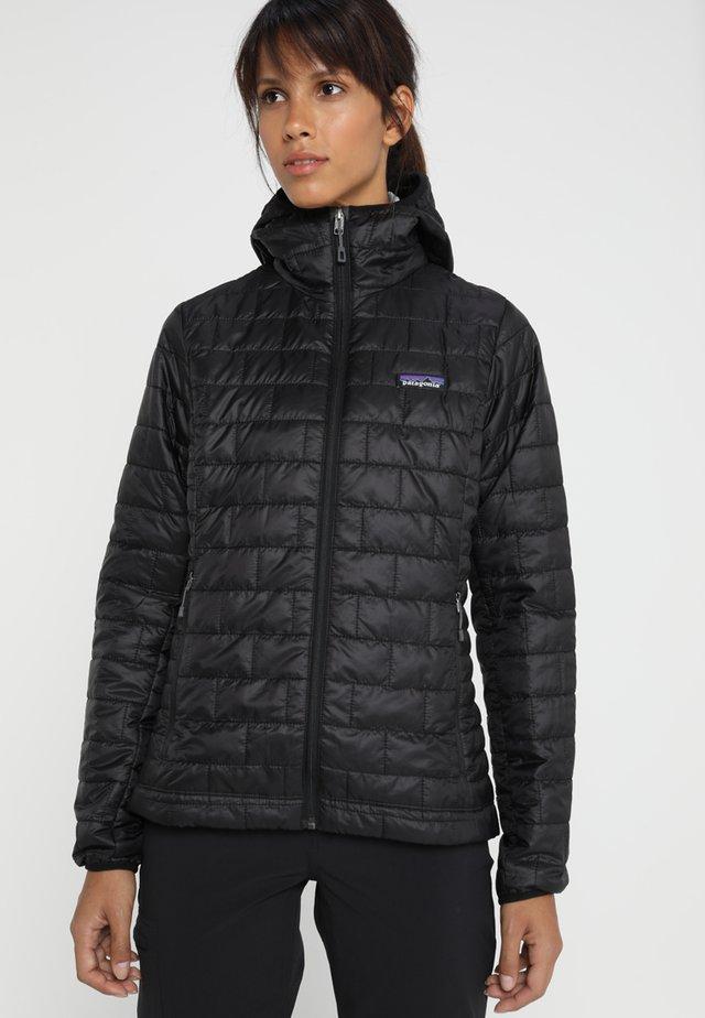NANO PUFF HOODY - Outdoor jacket - black