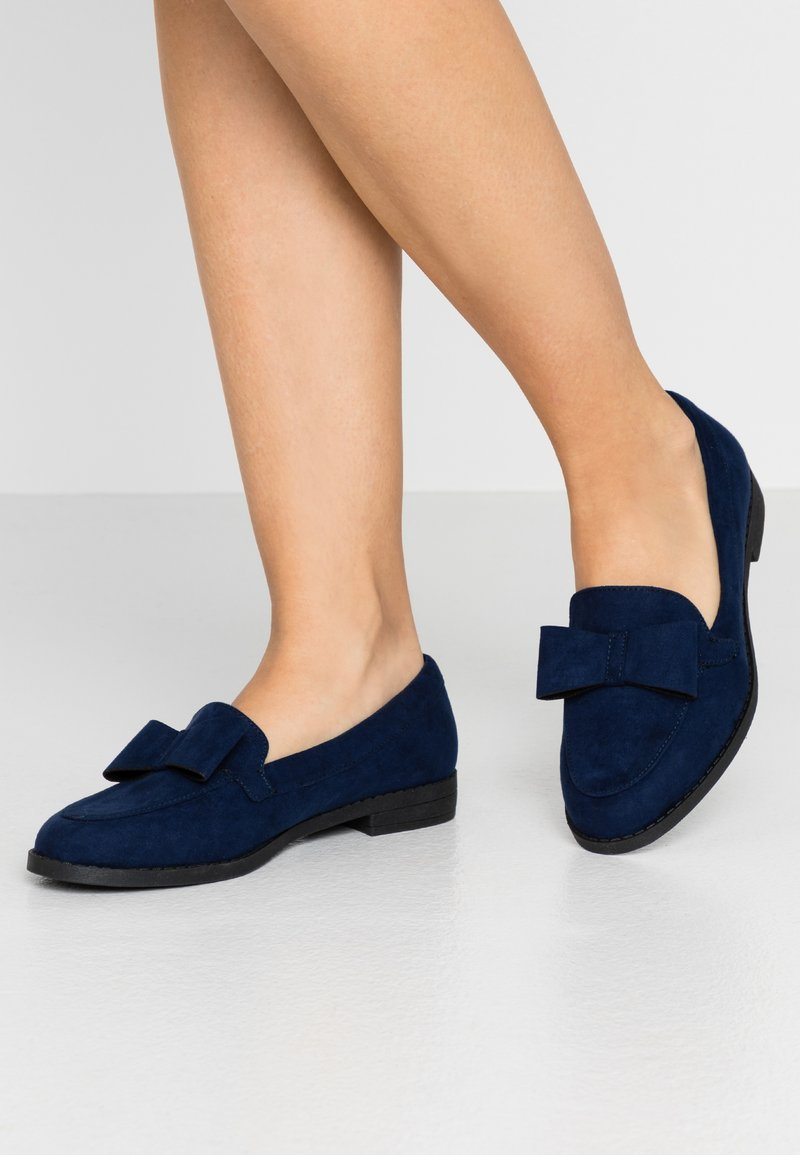 Simply Be - JUNO - Scarpe senza lacci - navy
