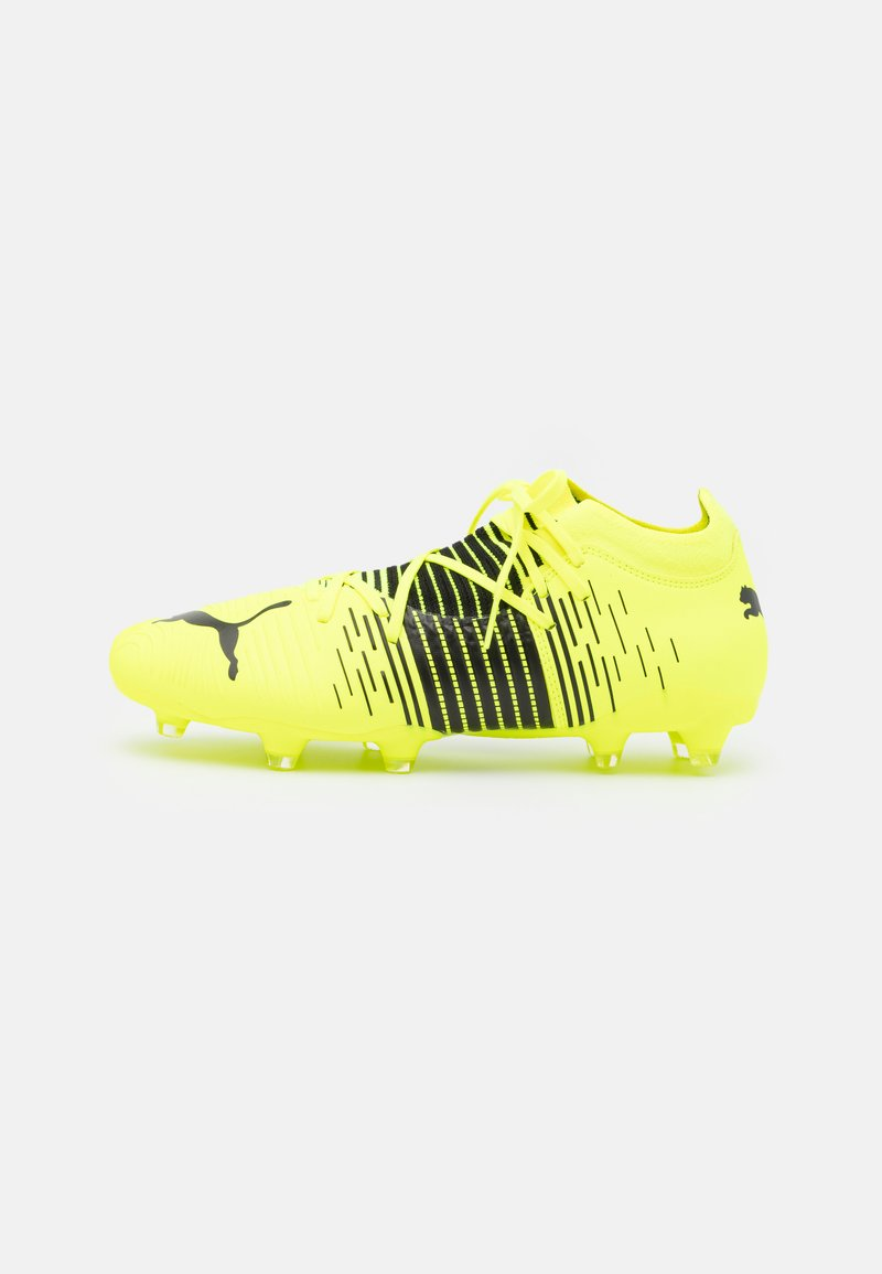 Puma - FUTURE Z 3.1 FG/AG - Moulded stud football boots - yellow alert/black/white