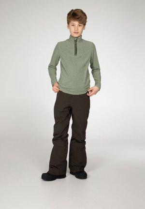 PERFECTY - Fleece jumper - green spray