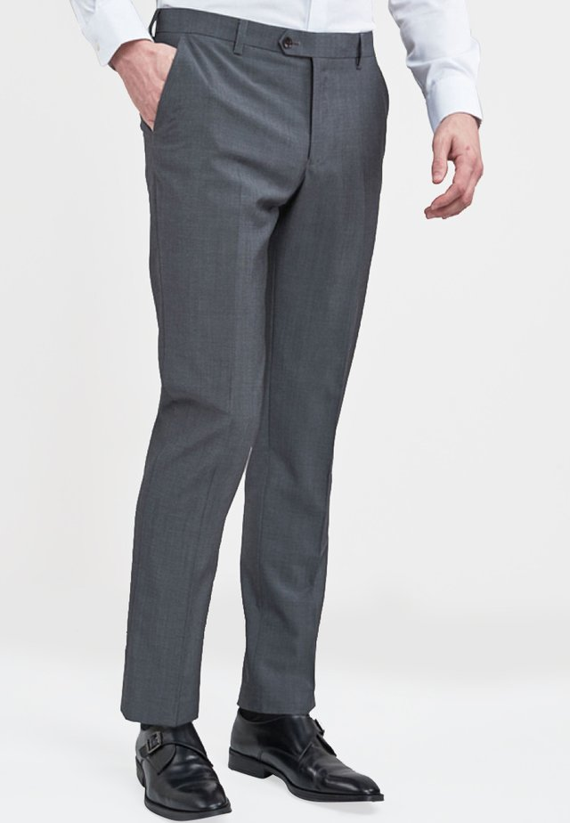 SIGNATURE  - Spodnie garniturowe - grey