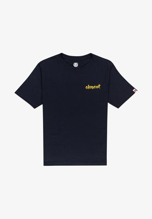 HENKE - Print T-shirt - eclipse navy