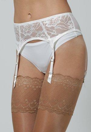 ANNA - GARTERBELT - Suspenders - off-white