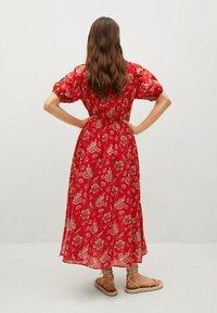 Mango - CALABASA - Maxi dress - rojo - 1