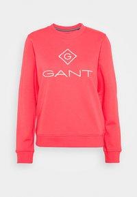 GANT - LOCK UP - Sweatshirt - watermelon red - 0