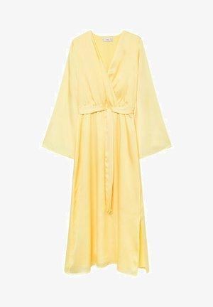 Vestido informal - pastelowy żółty