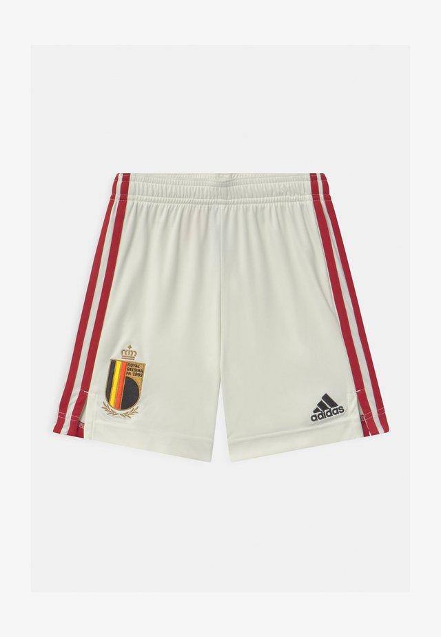 RBFA BELGIEN A UNISEX - Sports shorts - off white