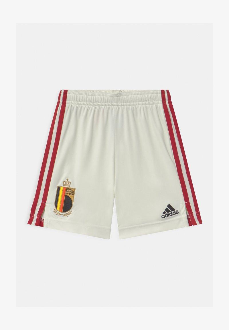 adidas Performance - RBFA BELGIEN A UNISEX - Sportovní kraťasy - off white