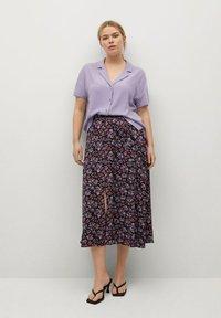 Violeta by Mango - Button-down blouse - lilas - 1