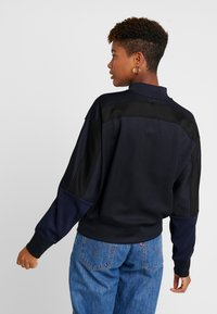 G-Star - PLEAT LOOSE COLLAR - Sweatshirts - mazarine blue - 2