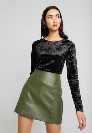 KYRA LONG SLEEVE - Long sleeved top - black