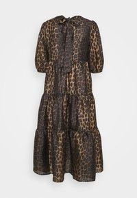 Cras - LILICRAS DRESS - Freizeitkleid - wild leo - 1
