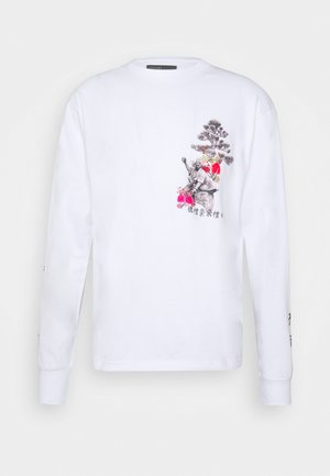 UNISEX OUTCAST TEE - Maglietta a manica lunga - white