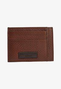 BOSS - Business card holder - open brown - 0