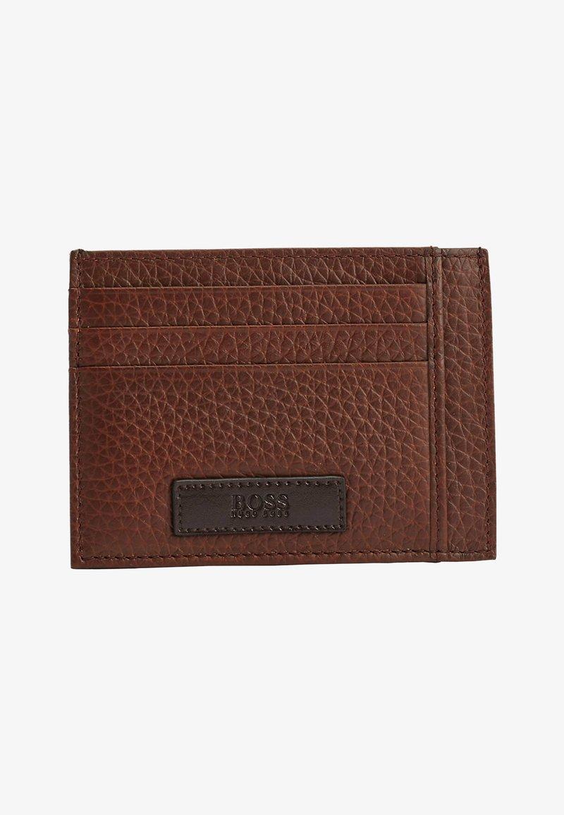 BOSS - Business card holder - open brown