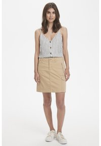 Part Two - SHANIA  - A-line skirt - beige - 1
