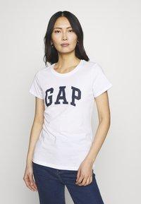 GAP - FRANCHISE TEE  2 PACK - T-shirt z nadrukiem - navy uniform - 2
