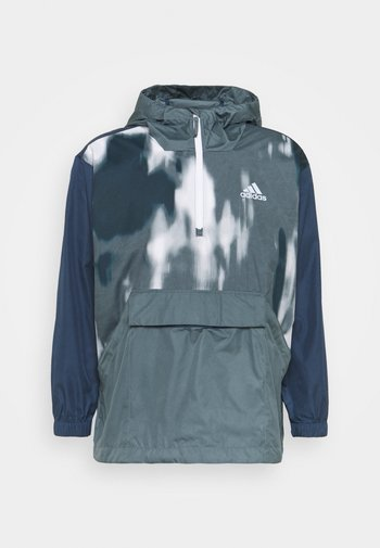 BACK TO SPORT WIND.RDY ANORAK - Chaqueta outdoor - crew navy/blue oxide