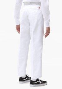 Dickies - 874 CROPPED PANTS - Bukser - white - 2