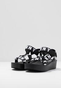 DKNY - AYLI - Platform sandals - black - 4