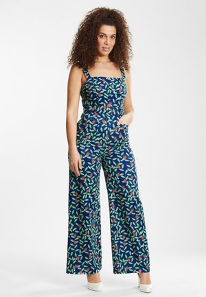 OLYMPIA - Overall / Jumpsuit /Buksedragter - blue