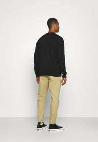 Only & Sons - ONSBILL LIFE PLACEMENT CREW - Trui - black - 2