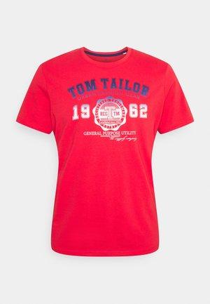 LOGO TEE - Print T-shirt - virtual rec