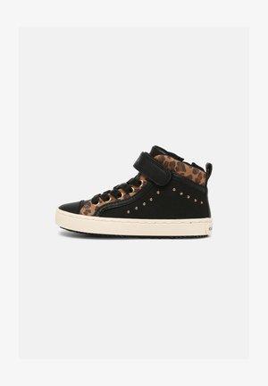 KALISPERA GIRL - Sneakers hoog - black/whisky