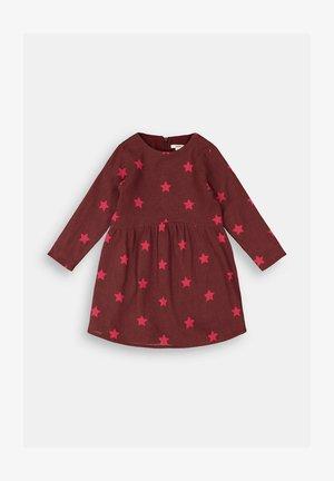 FASHION - Day dress - plum red