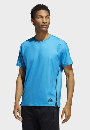 FREELIFT PRIMEBLUE T-SHIRT - Print T-shirt - blue