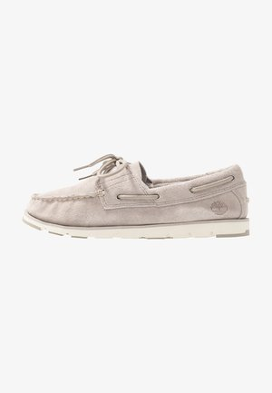 CAMDEN FALLS BOAT - Boat shoes - light beige