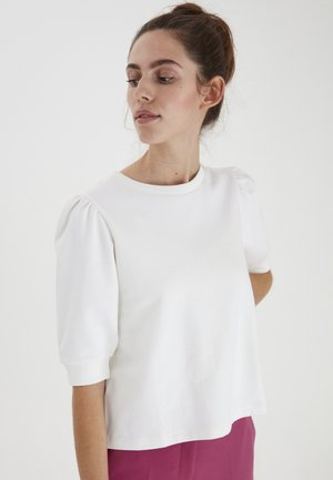 IHYARLET SW - Basic T-shirt - cloud dancer