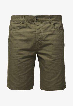 BASIC CHINO - Shorts - military green