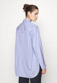 sandro - Button-down blouse - bleu ciel - 2