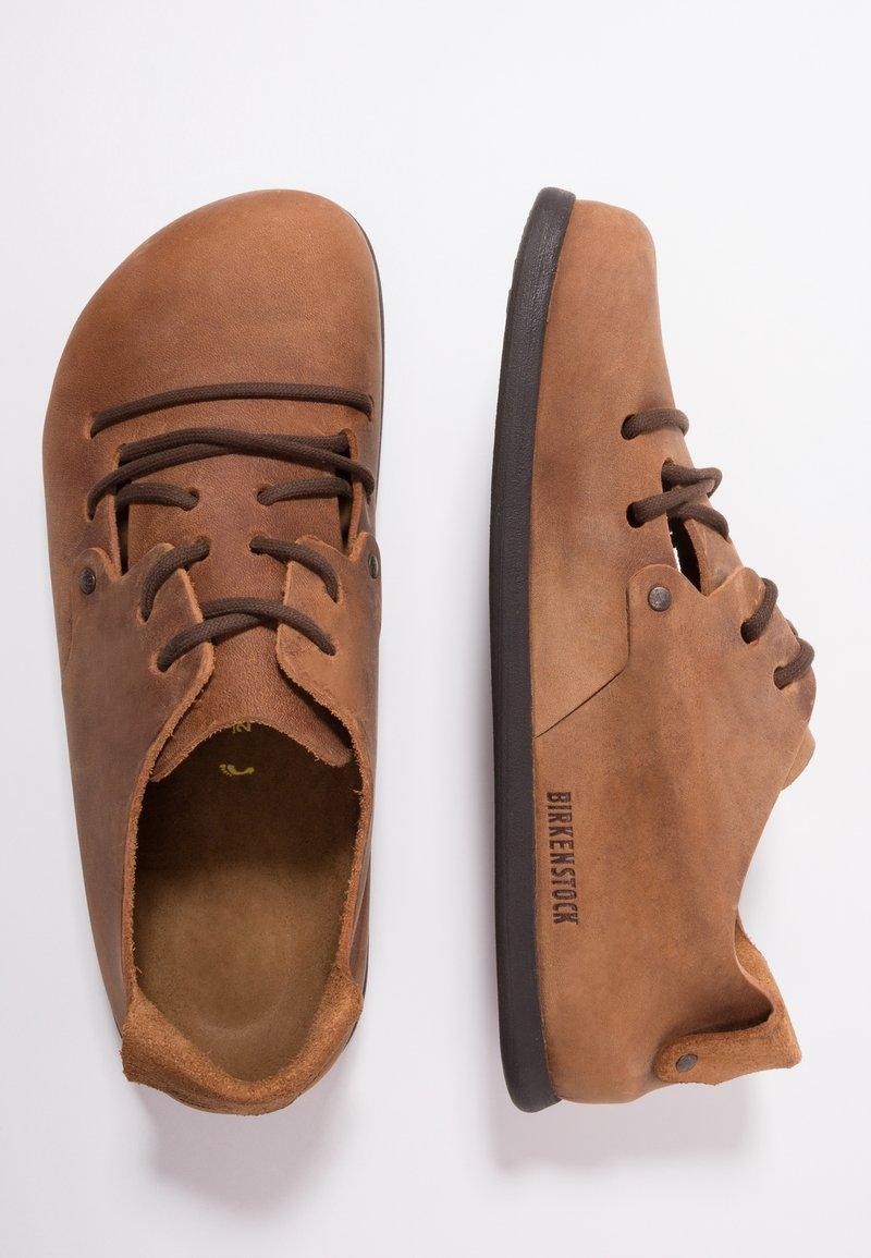 policía Mediar Pensamiento  Birkenstock MONTANA NARROW FIT - Casual lace-ups - cuoio/brown -  Zalando.co.uk