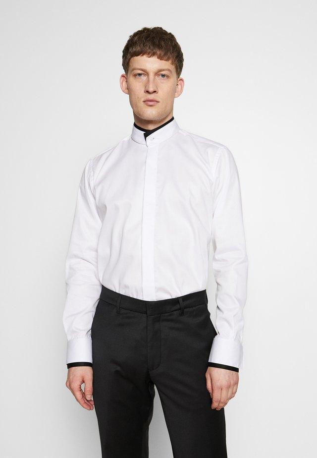 MODERN FIT - Koszula biznesowa - white/black