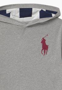 Polo Ralph Lauren - HOOD TEE - Jersey con capucha - andover heather - 2