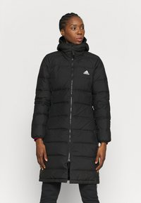 adidas Performance - FOUNDATION PRIMEGREEN JACKET - Down coat - black - 0