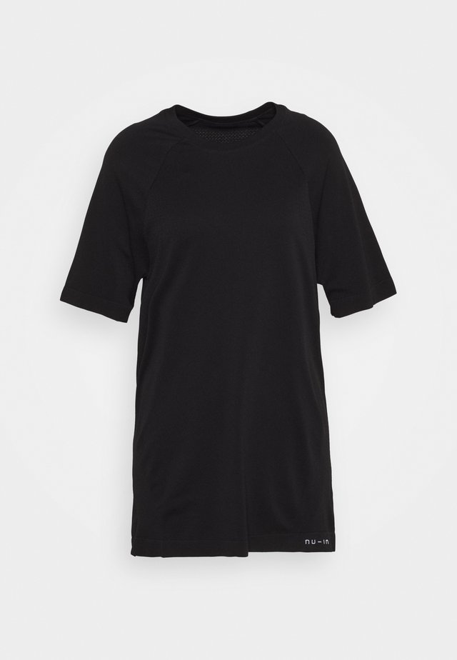 SHORT SLEEVE TRAINING  - T-shirts basic - black